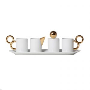 Manieriste coffee set - White Background