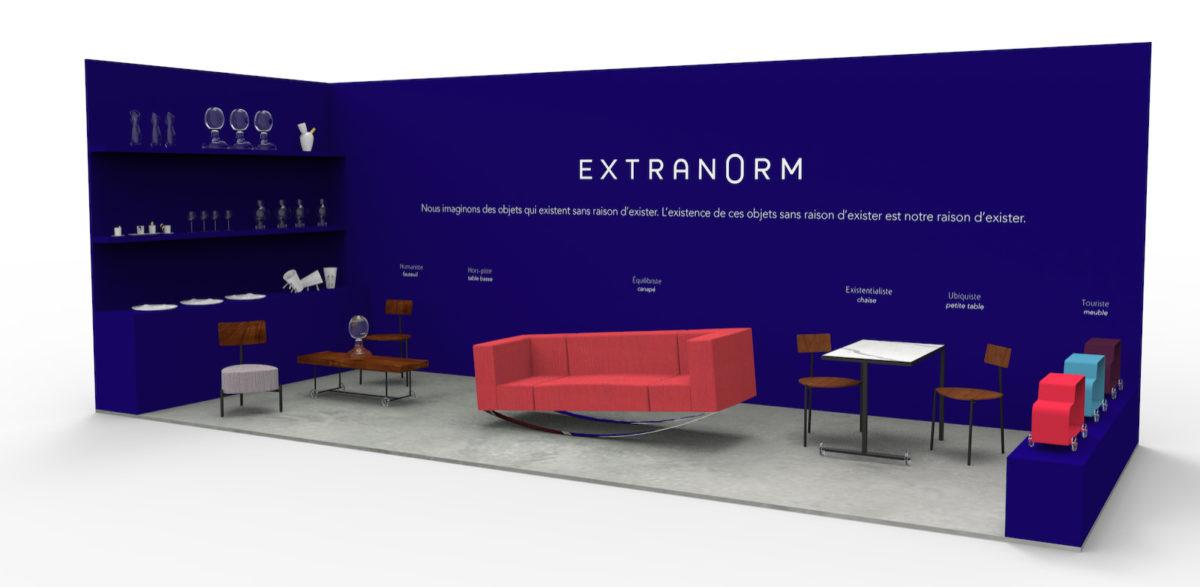 Extranorm pour la première fois à Maison & Objet