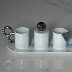Manieriste - complete set - Platine - marble 01 - carre
